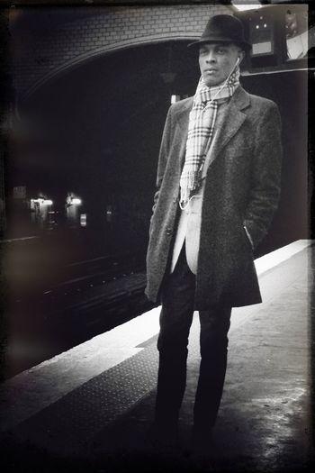 Subway IPhoneography Blackandwhite 24HR13