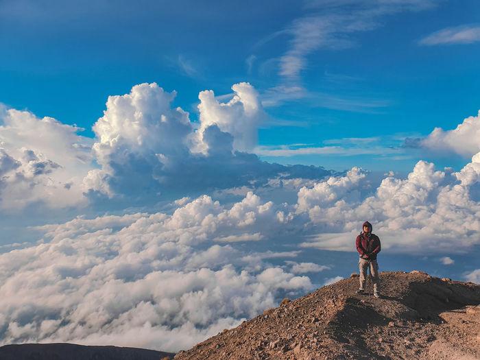 Mount agung beatifull place