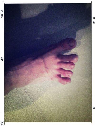 我的腳 好緊張……