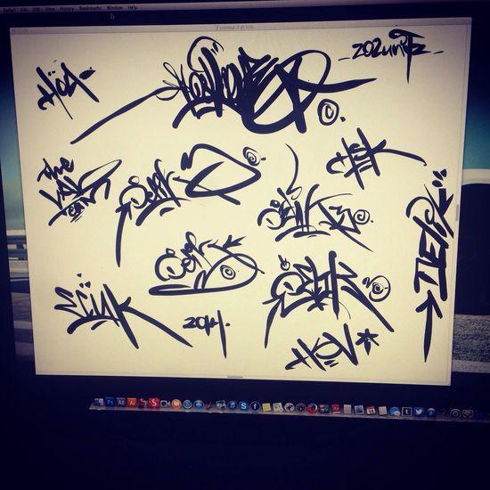 My signature tags on PainterX3. Tags DELIK3 My Signature Painter X3
