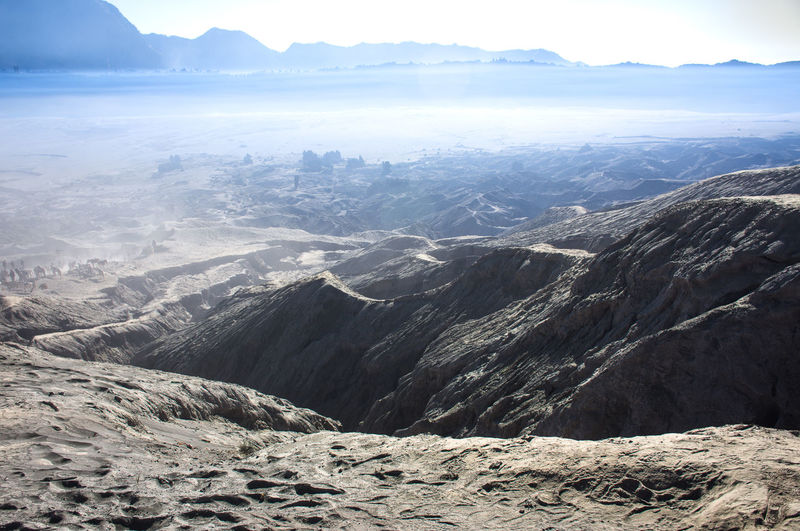 Mountain Scenics - Nature Tranquility Beauty In Nature Tranquil Scene Mountain Range Environment Day No People Landscape Remote Physical Geography Mountain Peak Non-urban Scene Outdoors Nature Climate Snowcapped Mountain Idyllic Sky Geology Land Arid Climate Bromo