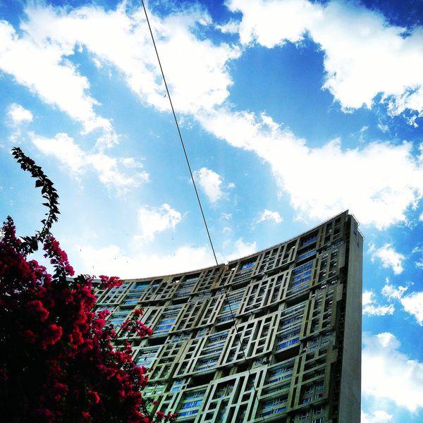 Blue Wave Mobile Photography Eyeempic EyeEm Gallery Mumbai Clouds And Sky Buildings & Sky Brightmorning