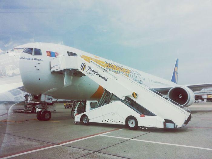 Mongolian Airline Berlingermany Chinggis Khaan