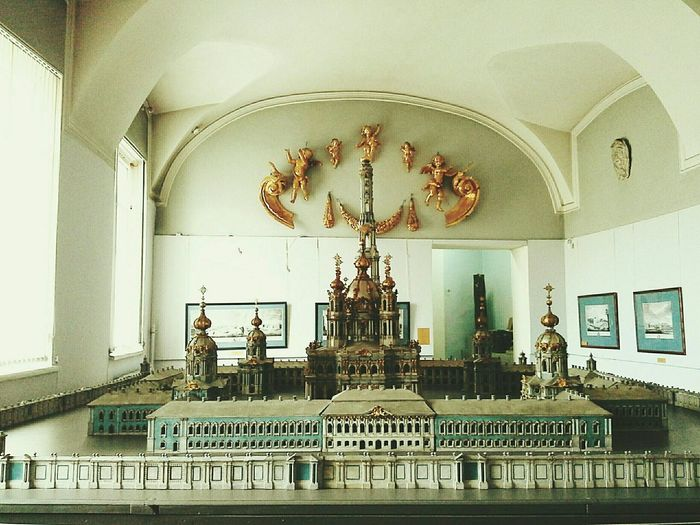 Academyofart Maquete Smolniy Cathedral Gorgeous Visiting Museum Saint Petersburg