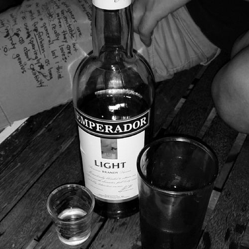 Just what I needed after a 6-day work week. Booze Pinoydrink Alaklang EmperadorLight