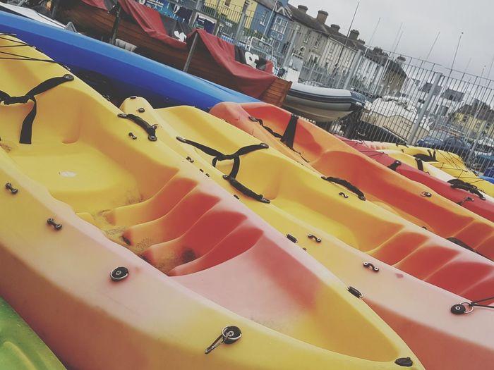 kayaks Close-up