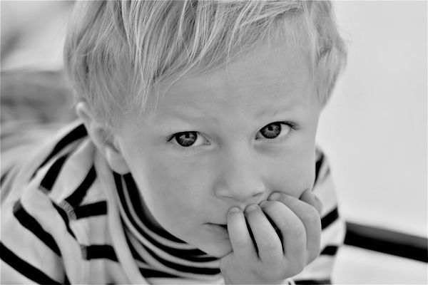 A Binding Moment 3 Years Old Beautiful Little Boy Loving Black And White Child Childhood Contemplation Faithful First Eyeem Photo Headshot Innocence Looking At Camera One Person Portrait Thinking Child Thoughful True