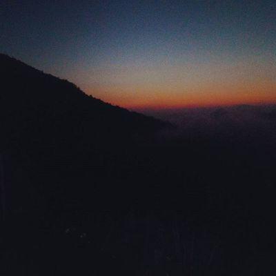 a few minutes before sunrise Sunrise Travelingindonesia Travel