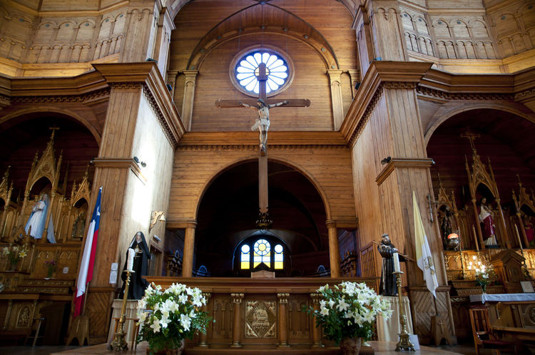 San Francisco Church - Castro - Chile Chile San Francisco Built Structure Castro Chilöe Inside Place Of Worship Religion San Francisco Church