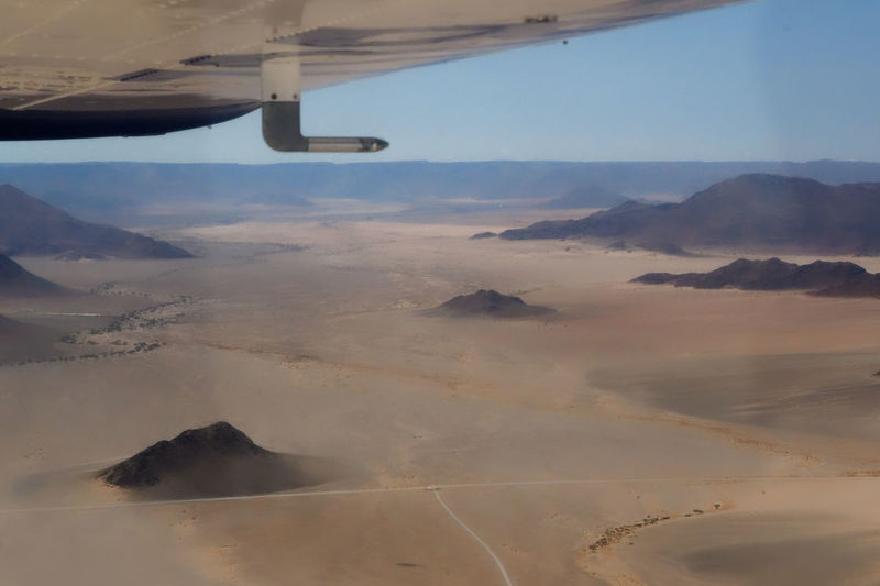 Approach to touch down in the desert Namib Desert Nikon D500 Aerial View Air Vehicle Airplane Airplane Wing Beauty In Nature Day Flying Journey Landscape Mid-air Mode Of Transport Mountain Nature No People Outdoors Physical Geography Scenics Sky Tranquil Scene Transportation