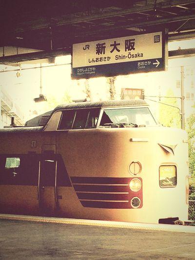 同じく《こうのとり》鉄道は全く詳しくないが、この車両からはオーラを感じる‼️ Station Train Oosaka  Holiday