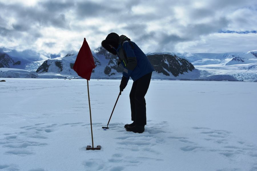 Antarctic Antarctic Peninsula Antarctica Cold Temperature Frozen Glacier Golf Golfing Ice Iceberg Icebergs Outdoor Sports Outdoors Snow Winter Wonderland