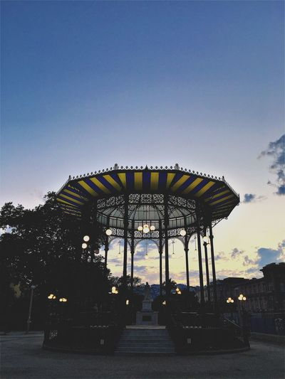 Amusement Park Arts Culture And Entertainment Architecture Outdoors Day Sky No People Gloriette Italy Napoli Popckorn City