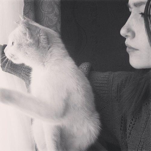 Я скучаю по тебе мой белый друг ;( уехала Скучаю
