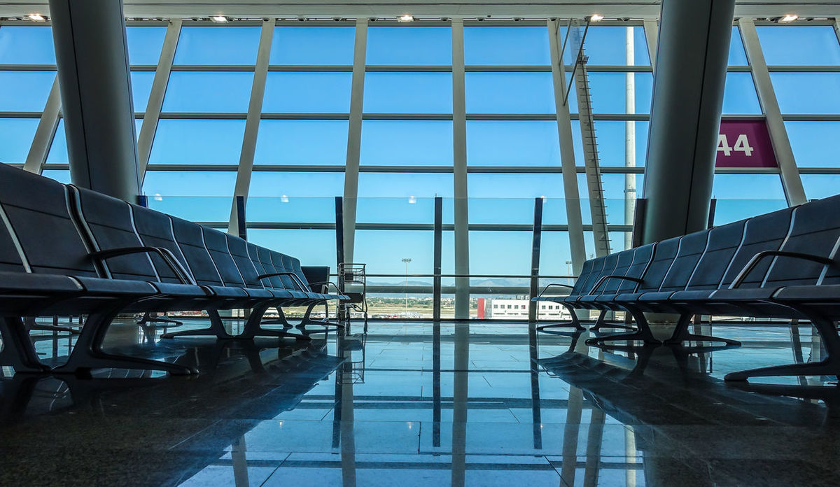 Airport Architecture Built Structure Day Departure Lounge Indoors  Modern Architecture No People Seating Bench Travel Travel Destinations Waiting Area Water