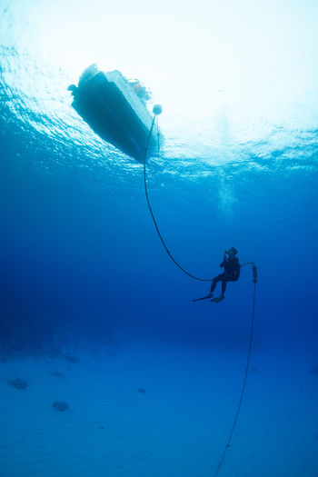 Rota Underwater Sea Water Adventure Sport UnderSea Blue Aquatic Sport Scuba Diving Exploration Nature Real People Diving Equipment Swimming Leisure Activity One Person Men Day Outdoors Underwater Diving Capture Tomorrow