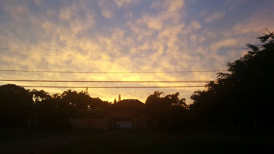 Sunset in Omao... Sunset Orange Color Dramatic Sky Cloud - Sky No People Scenics Beauty In Nature Outdoors Omao, Hawaii