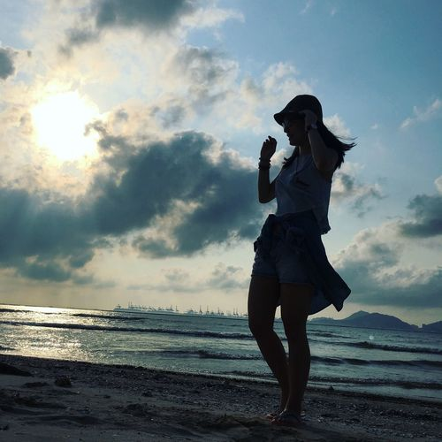 Follow your heart, do what you love Followyourheart Followme Sea Water Sky Cloud - Sky Beach Land Beauty In Nature