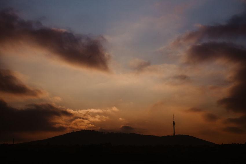 Avala Belgrade Belgrade Avala Cloud - Sky Day Dramatic Sky Landscape Mountain Sunset