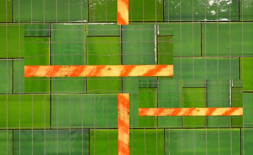 Cut And Paste Green Color No People Full Frame Redline Modern Art Gallery Berlin Photography Kacheln Fliesen Wood Art Wood Tiles Tiles Textures Contruction Zone Art Is Everywhere Wooden Plate