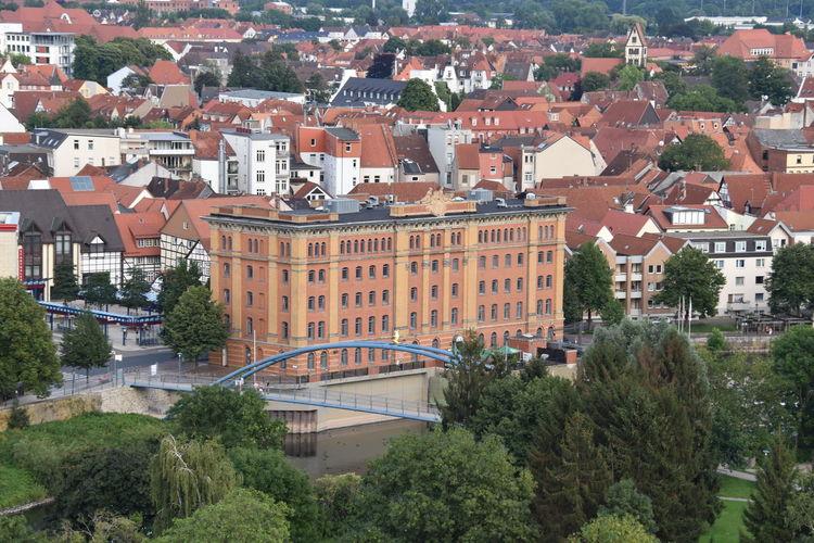 Balloon Ride Germany City Hameln Hameln Von Oben Hamlin Niedersachsen Lower Saxony Cityscape Cityscape Photography Pfortmuehle