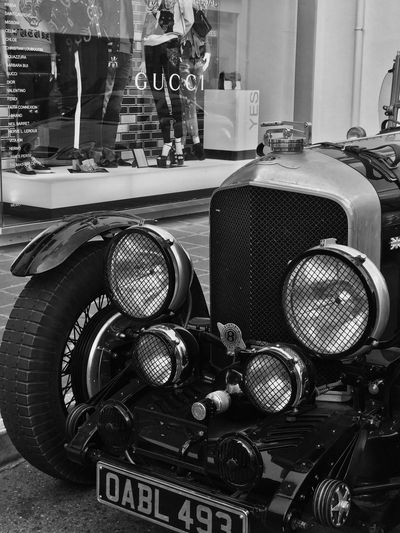 Vintage Car Retro Styled Old-fashioned Communication Technology Indoors  Arts Culture And Entertainment No People Day Close-up