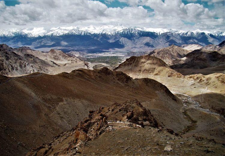 Himalayas, ladakh region, india