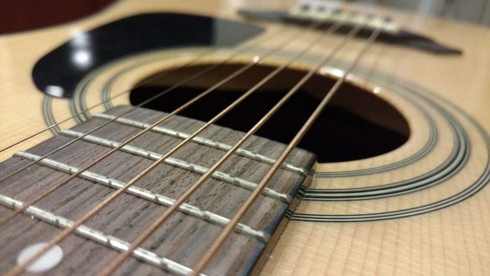 Acoustic Acoustic Guitar Close Up Close-up Closeup Guitar Guitar Hole Guitars Music Strings