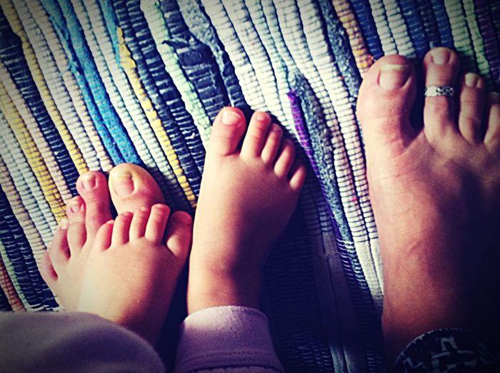 Feets Baby ❤ Little Feet Toering Colors Twenty Fingers Carola Darkqueen76