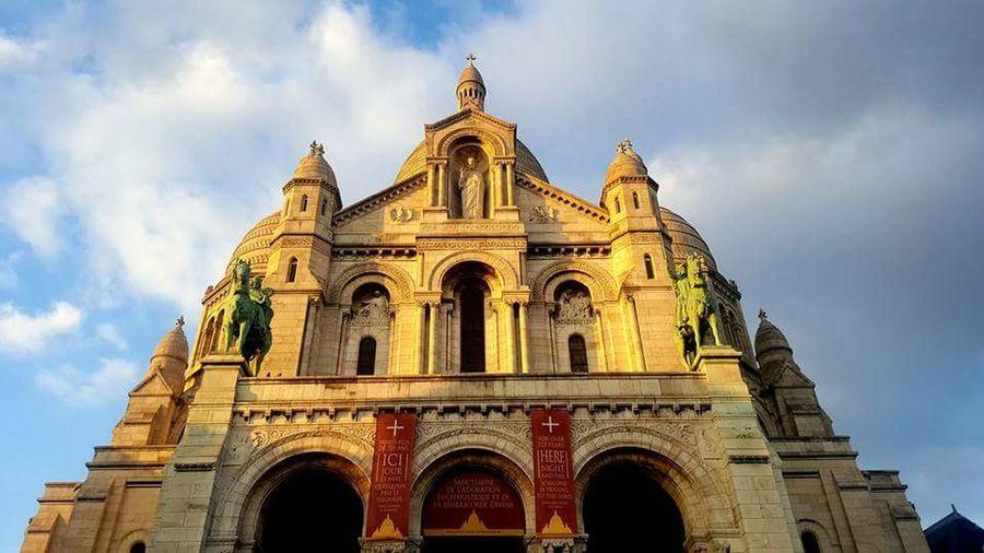 Sacre Coeur Paris, France  Architecture Travel Destinations Dome Building Exterior