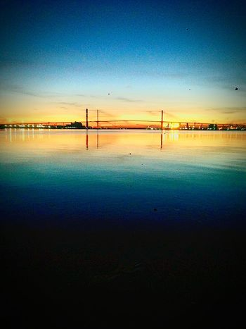 43 Golden Moments Golden Sunset Bridge Beautiful Sunset Beautiful Nice River Dartfordcrossing Dartford Dartfordbridge Wonderful Fine Art Photography