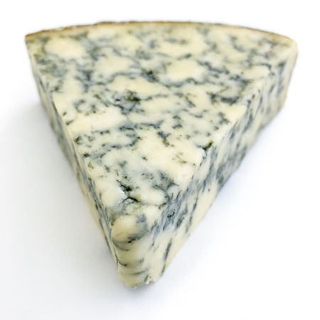 Stilton blue cheese Blue Cheese Marbled Smelly Stilton Aged Bacteria Cheese Close-up Dairy Product Food Food And Drink Freshness Marbling Mould Odour Rind Strong Studio Shot Taste Veins Wedge White Background