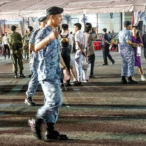 Found My Son finally ! After Graduation Basic Military Training Sg_streetphotography Streetphotography Airforce Sembawang Camp Soldiers Singapore