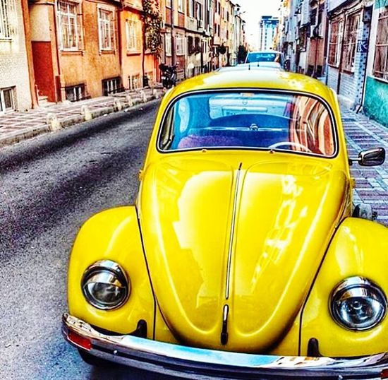Vosvos VW Yellow Love♥ L Love My Car First Eyeem Photo EyeEm The Best Shots GoodMorningg EyeeEm ! ♡