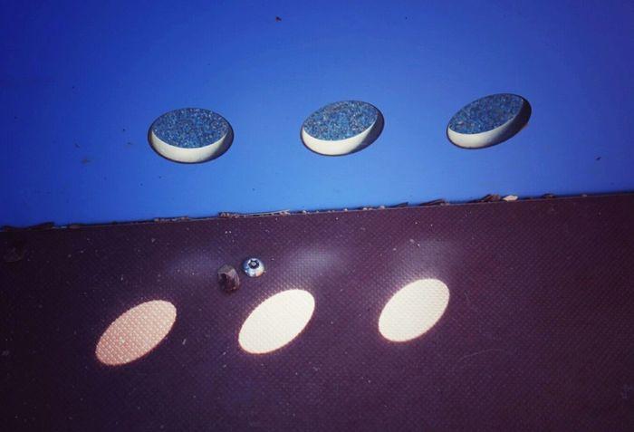 https://youtu.be/f8hT3oDDf6c Learn & Shoot: Single Light Source Three Is The Magic Number Holes In A Bench Sun Rays Blue Eye4photography  Minimalism EyeEm Gallery Open Edit Dotsdotsdots