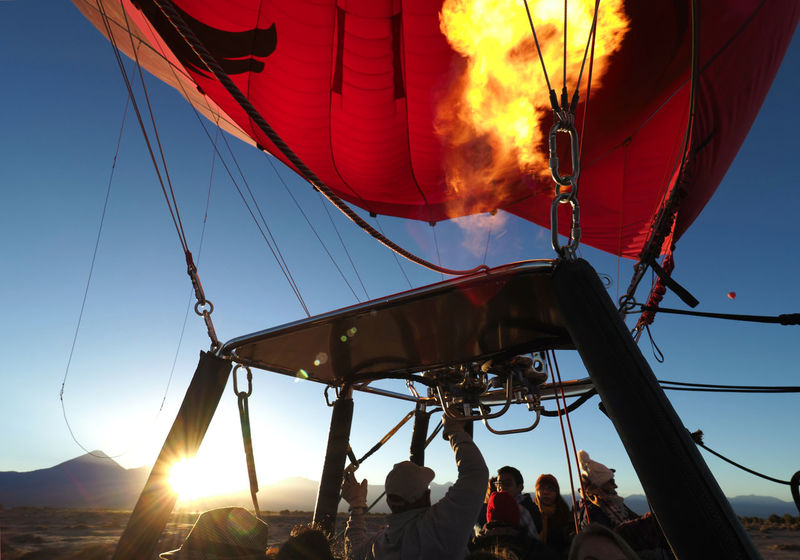 Happy ballooning! Atacama Desert Ballooning Balloons Over Atacama Chile Flame Happiness Take Off Adventure Burner Clear Sky Day Heat - Temperature Hot Air Balloon Leisure Activity Low Angle View Medium Group Of People Men Nautical Vessel Outdoors People Pilot Real People Sky Sunrise Transportation