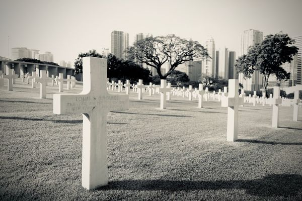 Cemetery Christian Cross Cross Sorrow Tree Plant Cemetery Grave Architecture Tombstone Stone Memorial Built Structure Nature Day Sky City Outdoors Building Exterior History No People Sadness EyeEmNewHere