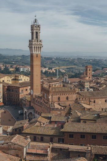 Architecture Building Exterior Built Structure City Cityscape Cloud - Sky History No People Outdoors Siena Spirituality Travel Destinations