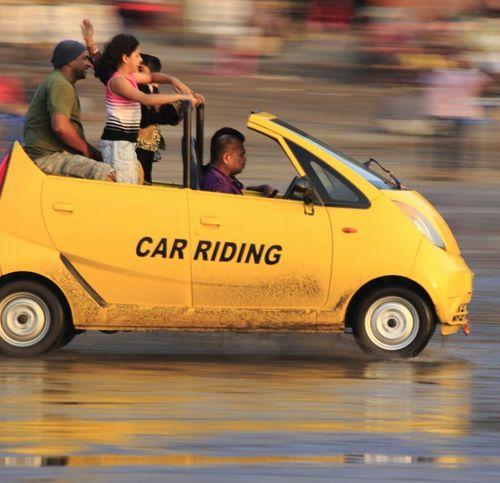 Car Riding  Car Ride  Beachphotography Yellow Car Motion Capture Motion Photography Photography In Motion Capture The Moment Taking Photos Photo Of The Day Photography By Me Cannon600d Fast Cars Fast Car