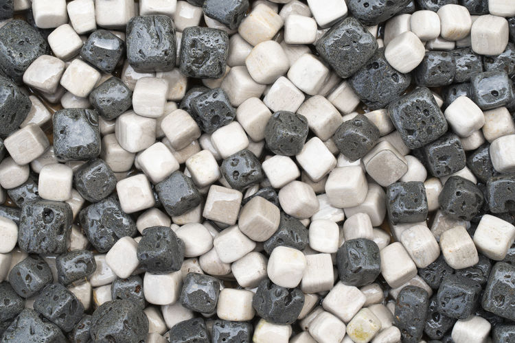 Close up group cube gravel background Backgrounds Black Color Close-up Cube Shape Directly Above Full Frame Gravel Heap Large Group Of Objects Nature No People Pattern Rock Rock - Object Stone Stone - Object