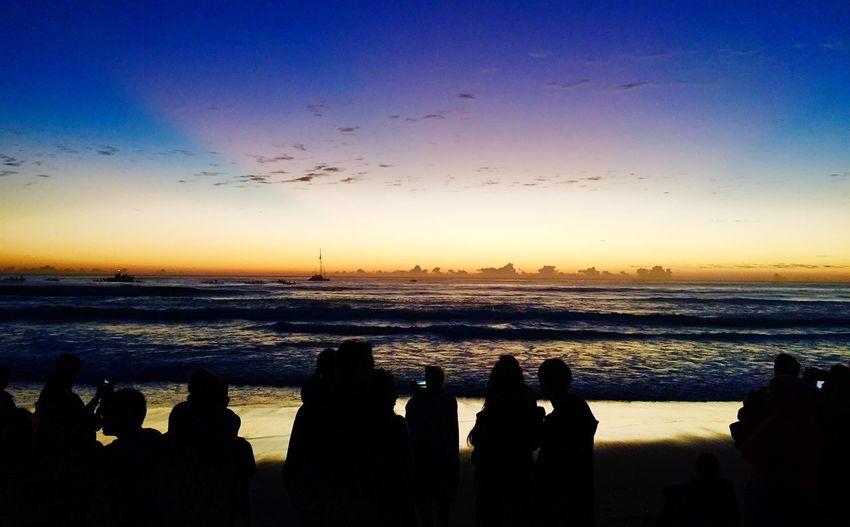 Anzac Day 2015 Anzac Day Currumbin Sunrise Enjoying The Sun