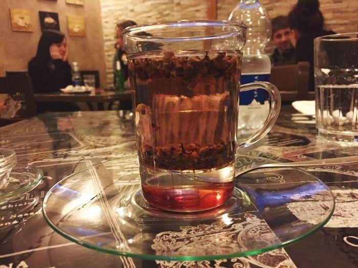 Tisana Infusion Of Tea Ambrosia Sarzana Taking Photos