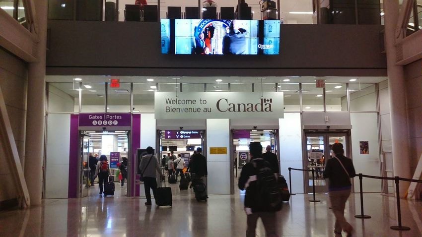 Welcome To Canada Arrival Gates Arrival Canada Arrival Gates Airport Airport Life Airport Arrival Gates