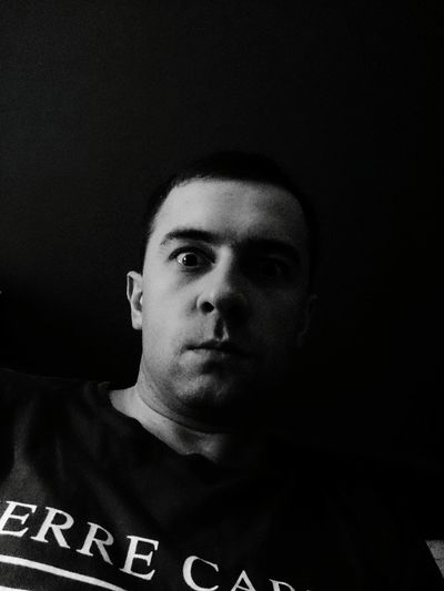 That's Me Blackandwhite Photography Polishboy  Face