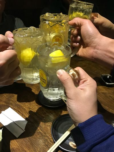 Cheers Suntory Highball Cheers Human Hand Hand Food And Drink Drink Refreshment Human Body Part Food
