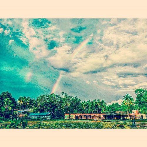 Rainbow 🌈7colorschallenge 🌈 Bluesky 🌁 Stormyweather☁ Crispyclouds Clouds ⛅ Motog3gen AdobeLightroom Afterlight Like4likes