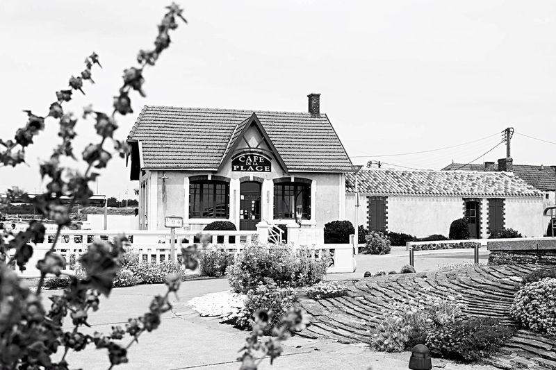 Vendée Blackandwhite Noir Et Blanc Cafe Cafe Time Sea Mer