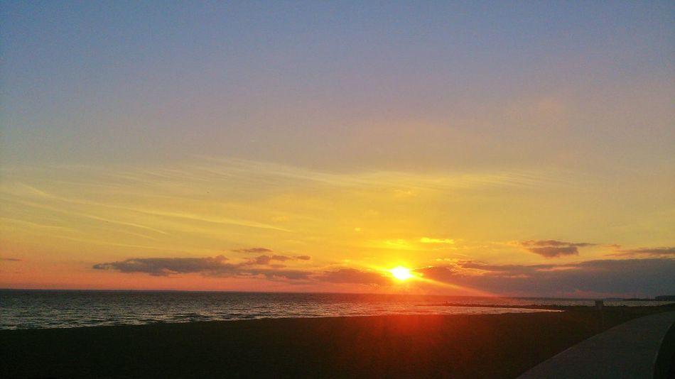 Sunset Landscape Saint-p