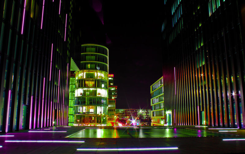 Night Shot at Hyatt Hotel Düsseldorf Nightlights Cityscape Düsseldorfer Hafen Düsseldorf Gooftroop2 Medienhafen Arschkalt Night Illuminated Gambling Multi Colored No People Outdoors Architecture Building Exterior City EyeEmNewHere