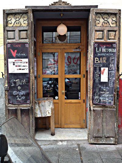 Lavapies Madrid Café In Madrid Street Of Madrid